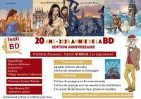 Evenement Chézy Festi BD 2020