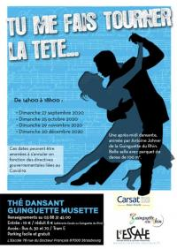 Evenement Strasbourg Thés Dansants