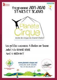 Evenement Saône et Loire Colo Cirque et nature
