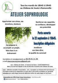 Evenement Haute Garonne Atelier de sophrologie hebdomadaire