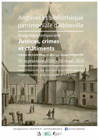 Evenement Somme JUSTICES, CRIMES ET CHÂTIMENTS
