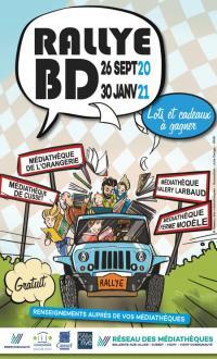 Evenement Saint Clément Rallye BD du réseau des médiathèques de Bellerive/Allier-Cusset-Vichy et Vichy Communauté
