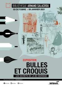 Evenement Le Havre Bulles et croquis, les secrets de la BD havraise