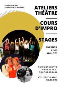 Evenement Boulbon Ateliers théâtre