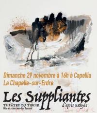 Evenement Nantes [Annulée] Pièce de théâtre Les Suppliantes