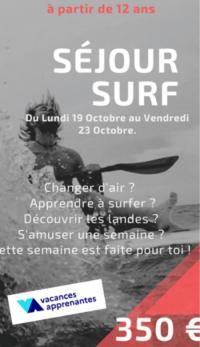 Evenement Bayonne SEJOUR DECOUVERTE SURF JEUX DU VENT PATRIMOINE
