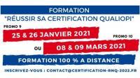 Evenement Mortroux Réussir sa Certification QUALIOPI - Formation 100 % à distance dans toute la France