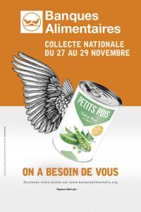 Evenement La Gaubretière Collecte nationale de la banque alimentaire - du 27 au 29 novembre 2020