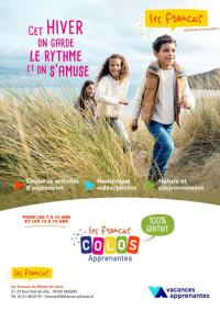 Evenement Talmont Saint Hilaire Colo apprenante Francas / Bord de Mer / Talmont St Hilaire du 27 au 31 décembre 2020