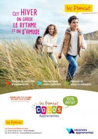Evenement Talmont Saint Hilaire Colo apprenante Francas / Bord de Mer / Talmont St Hilaire du 20 au 24 décembre 2020
