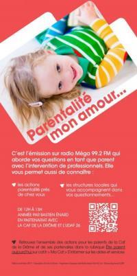 Evenement Le Crestet Emission radio Parentalité mon amour - L'école autrement