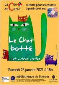 Evenement Savigny en Septaine Le chat botté et autres contes par la Compagnie du Carré