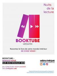Evenement Bougy Devenez acteur des Nuits de la lecture : faites un Booktube !