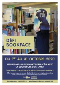 Evenement Plouguenast Défi Bookface : exposition et livret