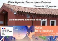 Evenement Auvare Café littéraire autour de René Char