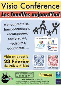 Evenement Vernoux en Vivarais Conférence-débat en visio sur les nouvelles formes de familles