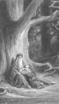 Evenement Aspremont Théâtre jeune public : Merlin l'Enchanteur