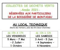Evenement Pays de la Loire Collectes de déchets verts - Année 2021
