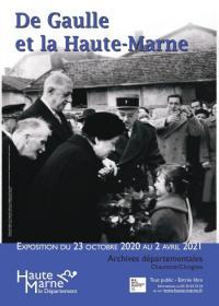 Evenement Haute Marne Exposition : De Gaulle et la Haute-Marne [fermée temporairement]