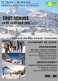 Evenement Cranves Sales TOUT SCHUSS 2