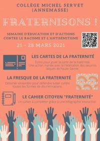 Evenement Saint Pierre en Faucigny Fraternisons !
