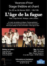 Evenement Loiret Stage théâtre et chant