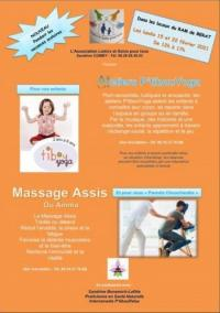 Evenement Lézat sur Lèze Ateliers P'tibout Yoga et massages assis