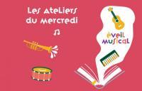 Evenement Jouet sur l'Aubois Atelier d'éveil musical / Les Ateliers du Mercredi