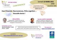 Evenement Saint Julien le Roux CONFERENCE Haut Potentiel organisée par AFEP DROME en webinaire