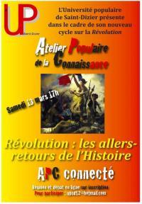 Evenement Haute Marne Atelier connecté et Révolution