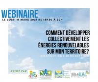 Evenement Mérignat Comment développer collectivement les énergies renouvelables sur mon territoire-