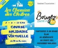Evenement Méasnes Les CHEMINS DES CLOÎTRES soutient BOUGEZ CONTRE LA SLA