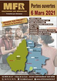 Evenement Tauriers Journée DECOUVERTE ET ORIENTATION en MFR Drôme Ardèche