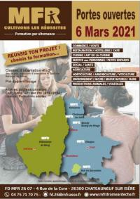 Evenement Charnas Journée DECOUVERTE ET ORIENTATION en MFR Drôme Ardèche