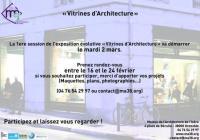 Evenement Isère Vitrines d'Architecture