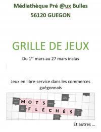 Evenement Morbihan Grille de jeux de la langue française
