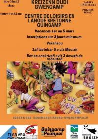 Evenement Plourivo Centre de Loisirs en Langue Bretonne