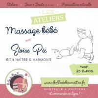 Evenement Poitiers Atelier Massage bébé