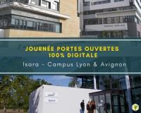 Evenement Rhône Journée Portes Ouvertes Isara campus Lyon et Avignon