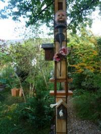 Evenement Croth Exposition de créations Art-Récup dans un jardin au naturel. Rencontre avec les artistes jardiniers