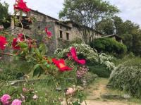 Evenement Villeneuve de Berg Visite d'un jardin de roses anciennes jardin remarquable