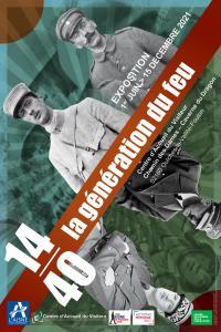Idée de Sortie Beaurieux Visite commentée de l'exposition  14-40 :  la génération du feu