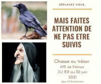 Evenement Sévérac le Château Chasse au trésor