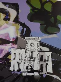Idée de Sortie Paradou Salle du Conseil: Fresque Christian Lacroix