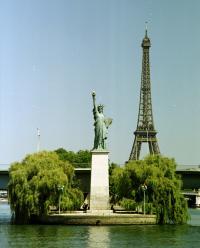 L´ile aux cygnes Paris