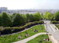 Parc de Belleville Paris