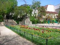 Square des arênes de Lutèce et square Capitan Paris