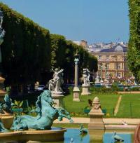 Jardin des grands explorateurs Marco Polo et Cavelier-de-la-Salle Paris