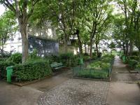 Square Jehan Rictus Paris