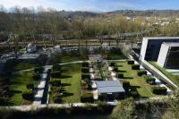 Les jardins contemporains de l´hotel du département Pyrénées Atlantiques